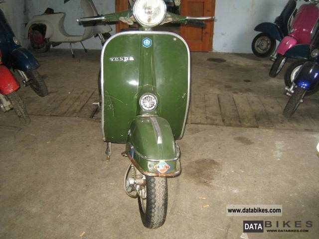 1976 Vespa  TS 125 O-paint Motorcycle Scooter photo