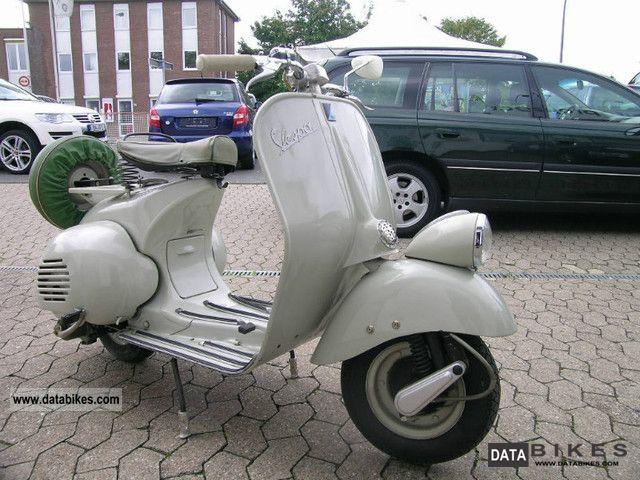 Vespa  Piaggio Vespa 125 due to lack of space! 1951 Vintage, Classic and Old Bikes photo