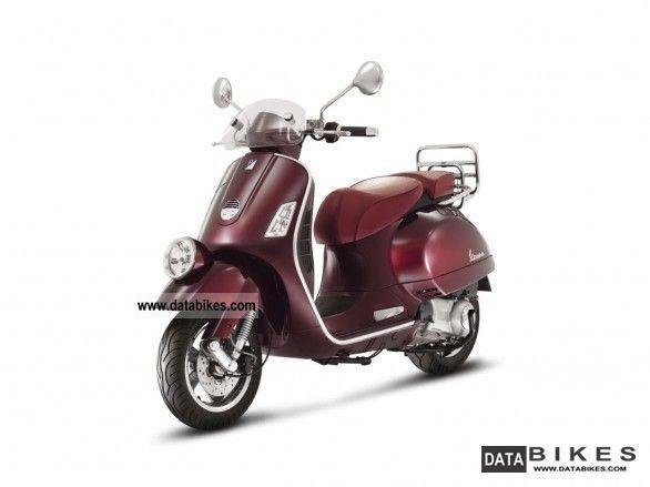 2011 Vespa  Vie della Moda 300 GTS Limited Edition Motorcycle Scooter photo