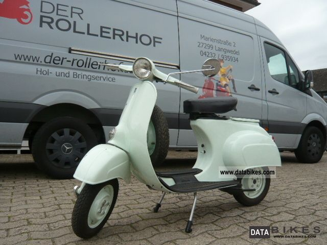 Vespa  50cc first V Series 1964 Vintage, Classic and Old Bikes photo