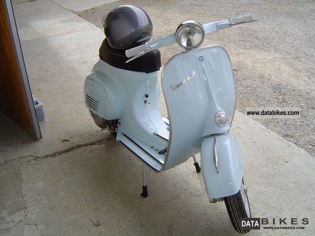 1967 Vespa  V5A Motorcycle Scooter photo