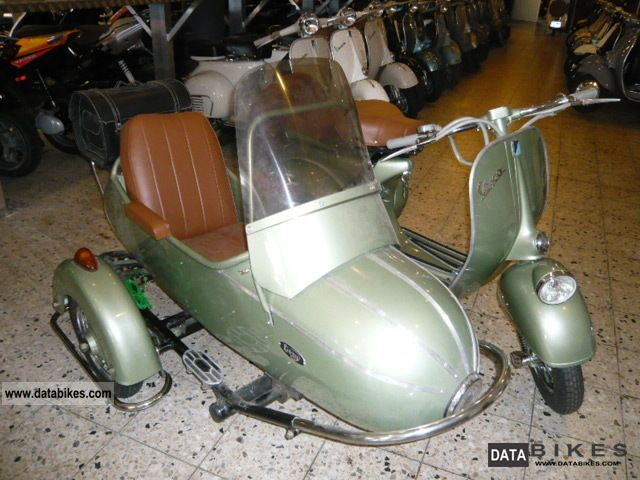 Vespa  VBC in Style Farro Basso 125 team registration 1964 Vintage, Classic and Old Bikes photo