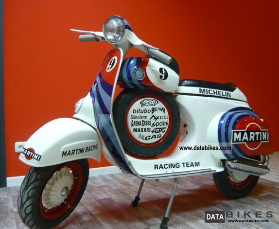 Vespa  SS Replica 50cc Martini Racing 1965 Vintage, Classic and Old Bikes photo