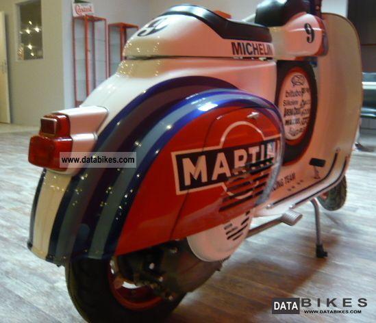 Honda 50cc Atv >> 1965 Vespa SS Replica 50cc Martini Racing