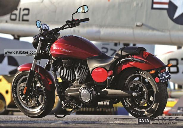 2011 VICTORY  Judge Sunset Red Motorcycle Chopper/Cruiser photo
