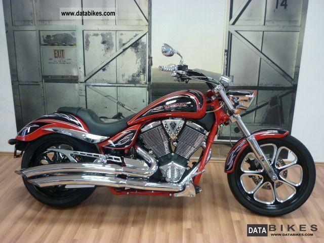 2011 VICTORY  Jackpot Ness Motorcycle Chopper/Cruiser photo