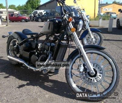 2011 WMI  MOTORCYCLES, Barhog 350.125, BOBBER, ACTION, NEW Motorcycle Chopper/Cruiser photo