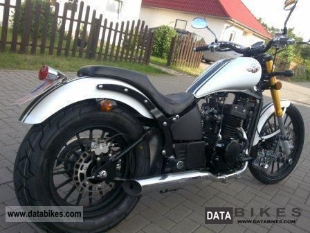 2011 WMI  MOTORCYCLES BOBTAIL 125 or 350 NEW!! Motorcycle Chopper/Cruiser photo