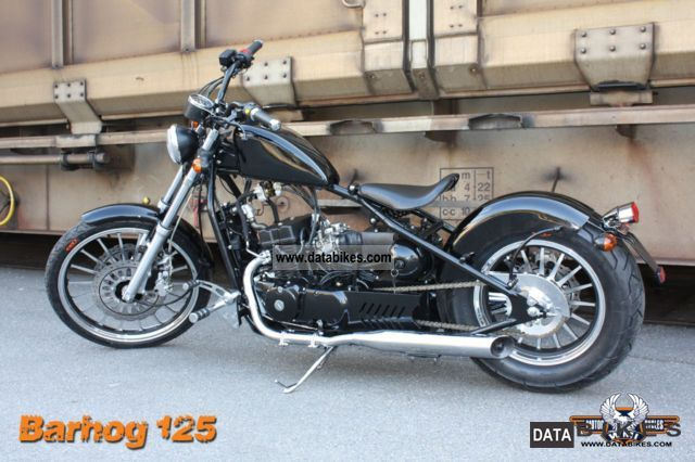 2011 WMI  MOTORCYCLES, Barhog 125.350, BOBBER, ACTION!! Motorcycle Chopper/Cruiser photo