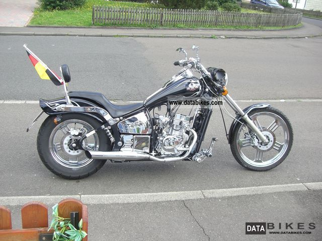 2007 WMI  Dragtail 125 Motorcycle Chopper/Cruiser photo