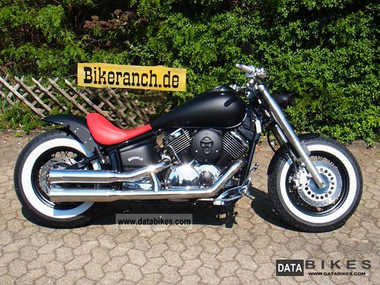 2003 Yamaha  XVS 1100 FAT XXX-LARGE-road killer special tag! Motorcycle Chopper/Cruiser photo