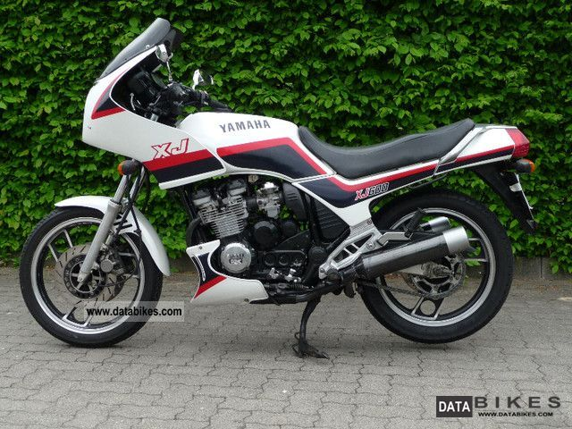 1988 Yamaha Xj 600