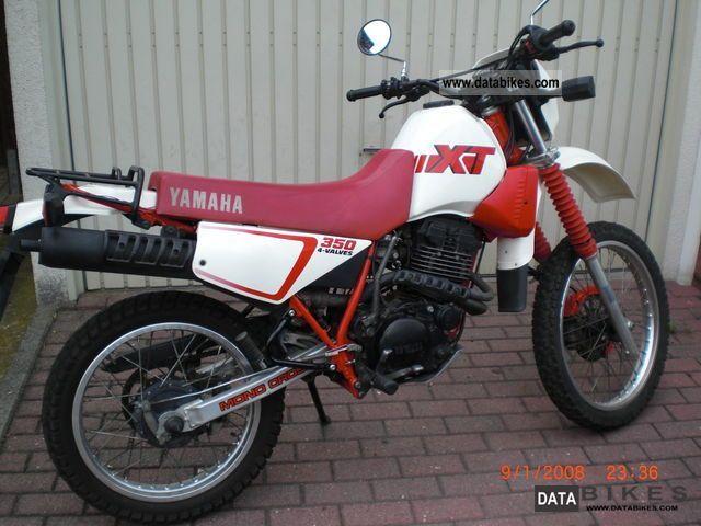 1989 Yamaha  XT350 Motorcycle Enduro/Touring Enduro photo