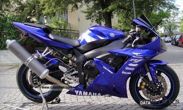 2002 Yamaha  YZF R1 TOP, TOP Motorcycle Sports/Super Sports Bike photo