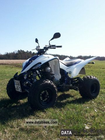 Yamaha  YFM 350 Raptor Limeted Edition 2008 Quad photo