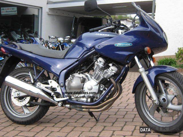 1993 Yamaha  XJ600 Motorcycle Motorcycle photo