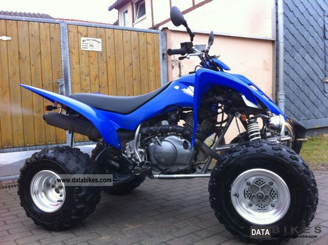 2005 Yamaha  WITH RAPTOR 350 street legal 2 MANUAL Motorcycle Quad photo