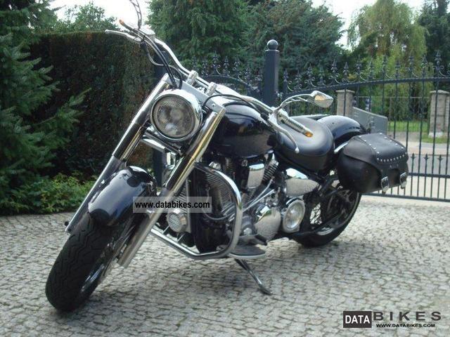 1999 Yamaha  XV 1600 Wild Star Exclusive black edit Motorcycle Chopper/Cruiser photo
