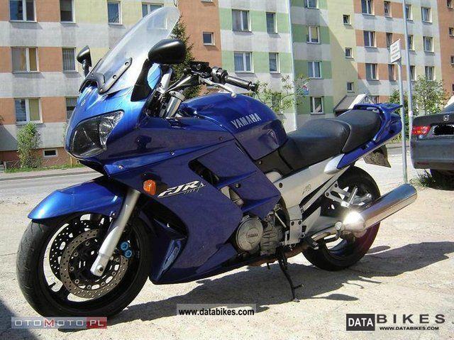 2003 Yamaha  FJR Motorcycle Other photo
