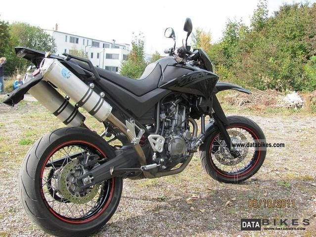 2008 Yamaha  XT660X Motorcycle Super Moto photo