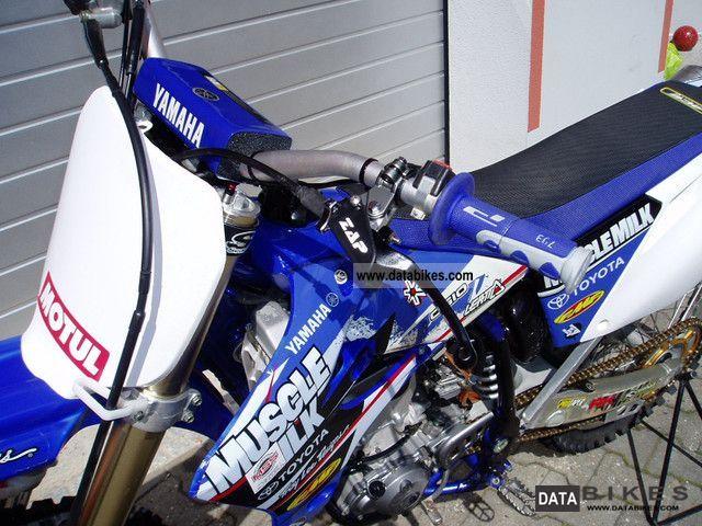 2005 Yamaha YZ 250 F YZF 250 with Arrow Exhaust