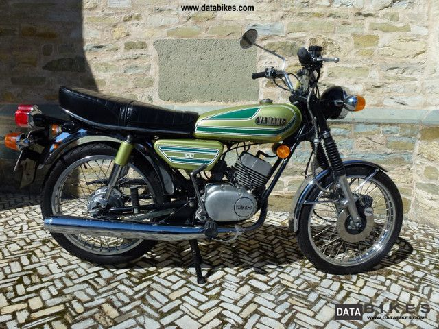 Yamaha  RS 100 1977 Vintage, Classic and Old Bikes photo