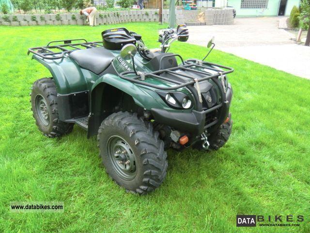 2004 Yamaha Kodiak 450 4x4 Winch