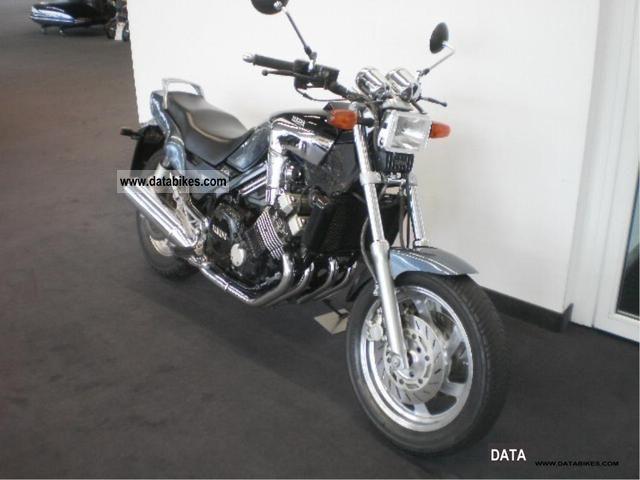 1993 Yamaha  FZX 750 rare and beautiful Motorcycle Chopper/Cruiser photo
