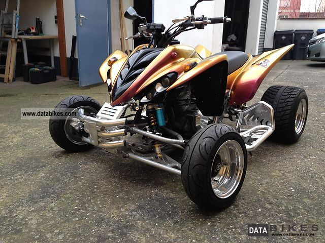 2004 Yamaha YFM 350 Raptor Motorcycle Quad photo
