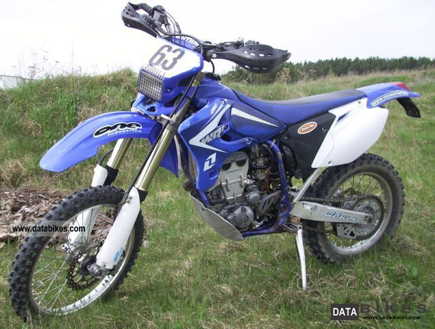 2006 Yamaha  WR 450 Motorcycle Enduro/Touring Enduro photo