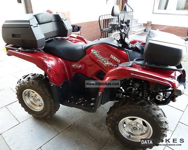 2009 Yamaha  Grizzly 550 EPS L.E. street legal Motorcycle Quad photo