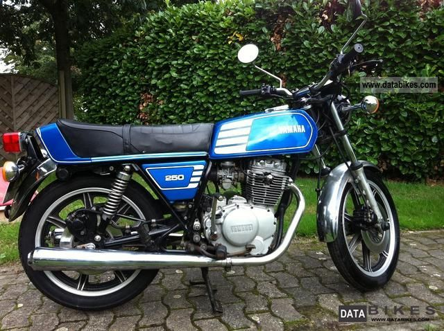 Yamaha  xs 250 1978 Vintage, Classic and Old Bikes photo