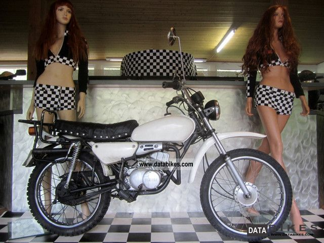 1980 Yamaha  DT 50 M Motorcycle Motor-assisted Bicycle/Small Moped photo