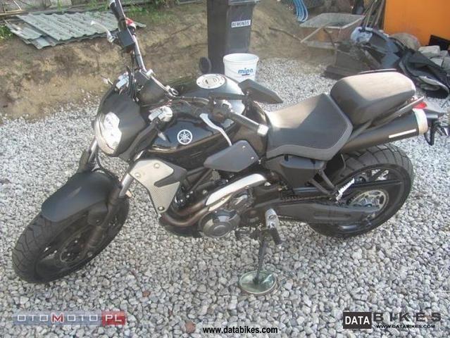 2010 Yamaha  MT idealna, 2,700 km!! Motorcycle Other photo