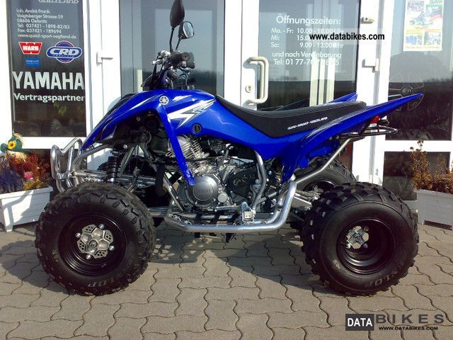 2011 Yamaha  YFM 350 R from the Yamaha dealer! Motorcycle Quad photo