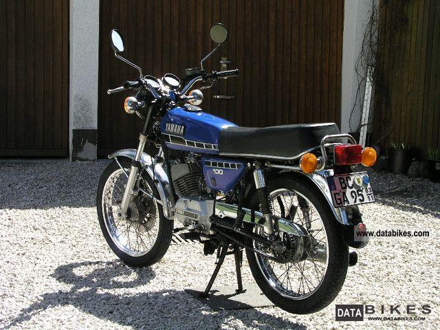 1978 Yamaha RS 100