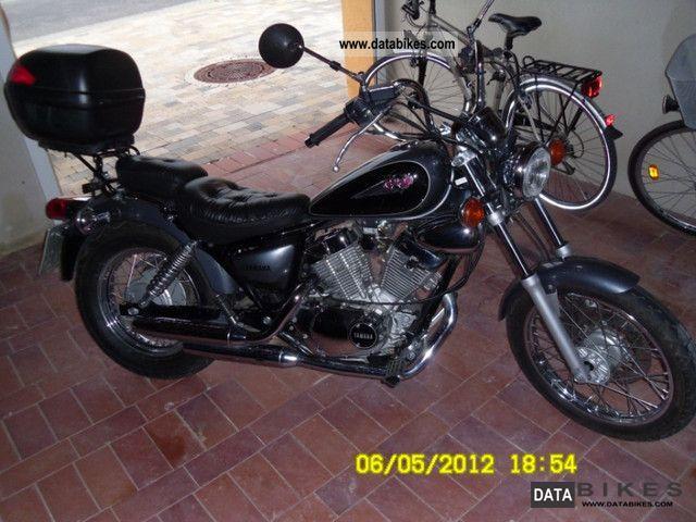 2002 Yamaha  Virago 124 m³ with topcase Motorcycle Chopper/Cruiser photo