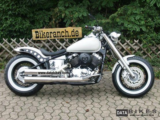 2003 Yamaha  XVS 650 FAT-BOBBER DREAM-White Elegance TAG Motorcycle Chopper/Cruiser photo