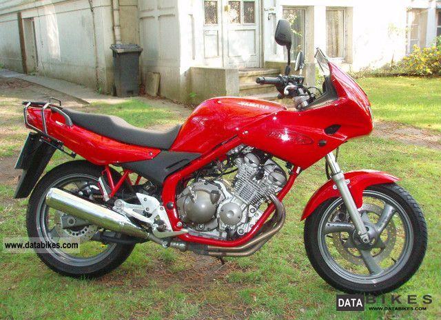 1996 Yamaha Xj600s
