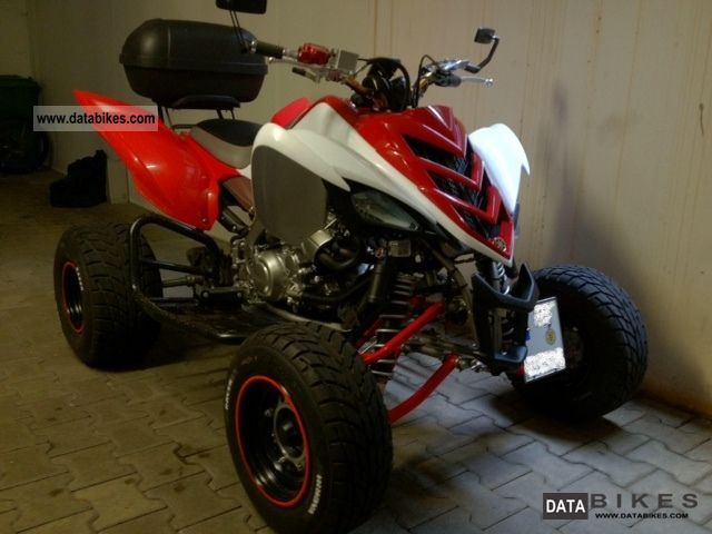 2008 Yamaha  700 r Motorcycle Quad photo
