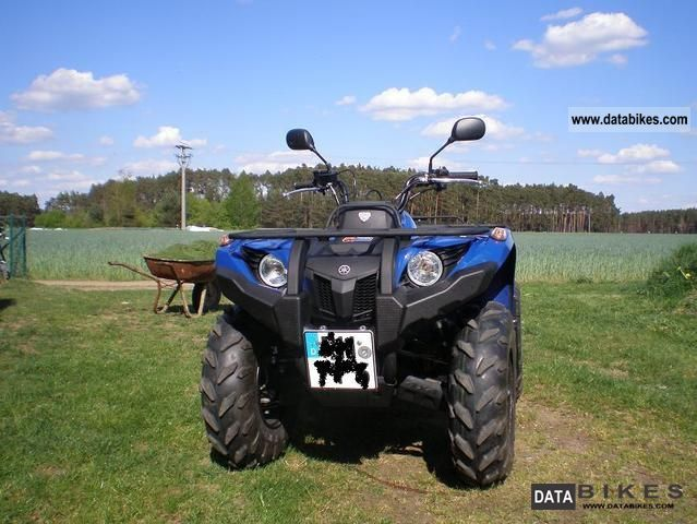 2011 Yamaha  Grizzly 450 IRS 4X4 Motorcycle Quad photo