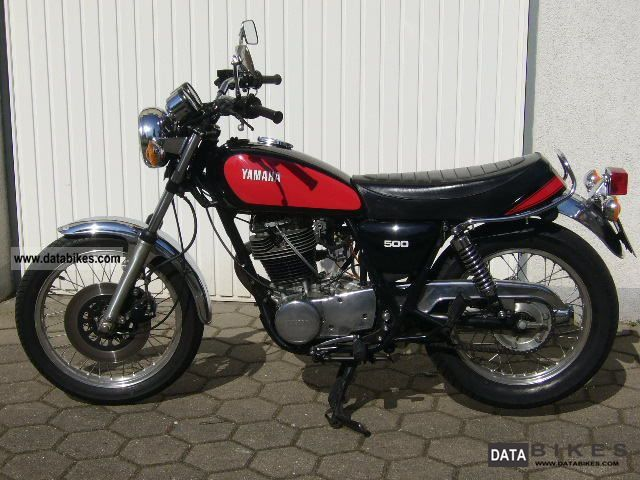 Yamaha  SR500 1979 Vintage, Classic and Old Bikes photo