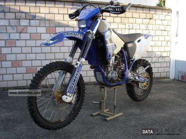 1999 Yamaha  WR 400 F Motorcycle Dirt Bike photo