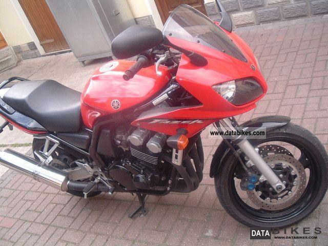 2003 Yamaha  FAZER Motorcycle Sport Touring Motorcycles photo