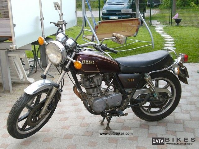 1984 Yamaha  SR 500 2J4 Motorcycle Motorcycle photo