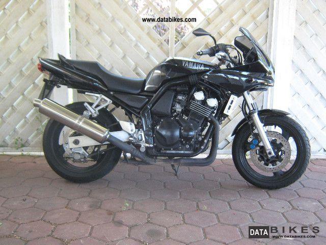 2000 Yamaha  Fazer Motorcycle Motorcycle photo
