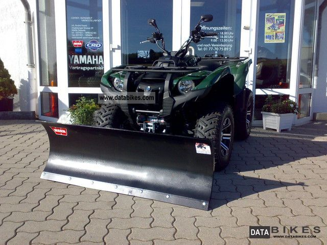2011 Yamaha  Grizzly 550 with the snow plow dealers Motorcycle Quad photo