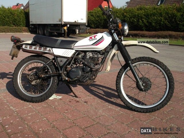 Yamaha  XT 250 1988 Enduro/Touring Enduro photo