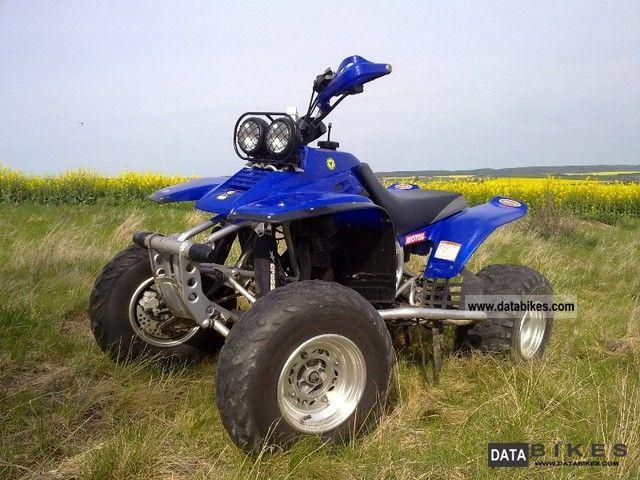 2010 Yamaha  Warrior YFM350x Motorcycle Quad photo