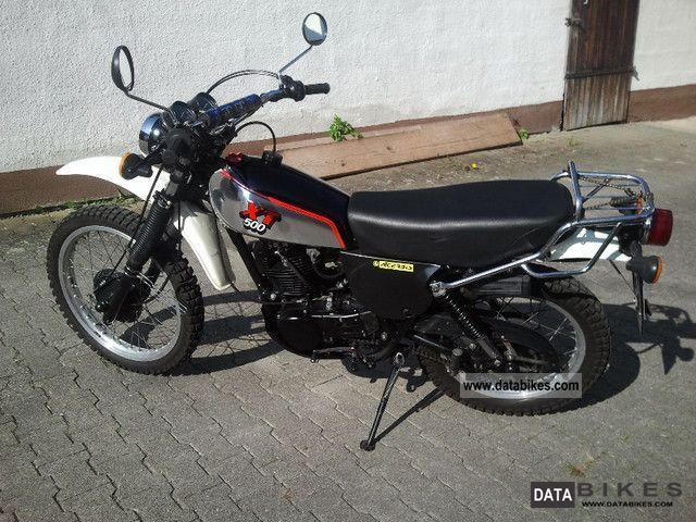 1985 Yamaha  XT500 Motorcycle Enduro/Touring Enduro photo